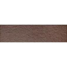 Клинкер 24,5x6,5 Амстердам 4 рельеф коричневый