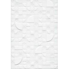 Плитка настенная 20x30 Каскад 7 белый