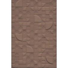 Плитка настенная 20x30 Каскад 3 коричневый