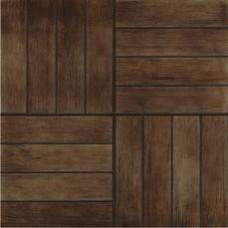 Плитка ГРЕС 40x40 Кастелло 3 коричневый