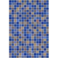 Плитка настенная 27,5x40 Гламур 2Т голубой