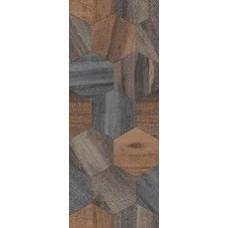 Плитка настенная 20x50 Миф 1 коричневый