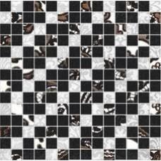 Ковёр 30x30 Органза 5 черный