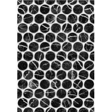 Плитка настенная 27,5x40 Помпеи 1 тип 1 черный