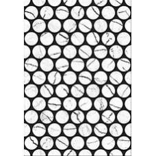 Плитка настенная 27,5x40 Помпеи 7 тип 1 белый