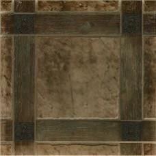 Керамический гранит 50x50 Шато 4 коричневый