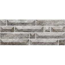 Плитка настенная 20x50 Вавилон 2 серый