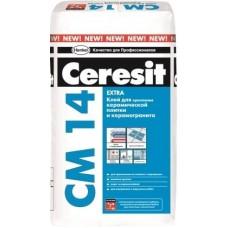 Сухая облиц. смесь Ceresit CM14 25 кг