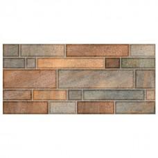 Плитка настенная 23x50 Metro темно-коричневый